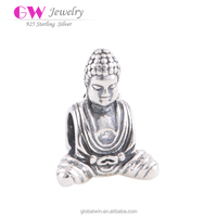 Fine Jewelry Wholesale Buddha Charms Religious Charms Fit For Bracelets