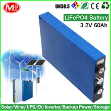 Solar light lithium-ion battery 60ah 3.2V deep cycle lithium-ion battery made by China outstanding factory