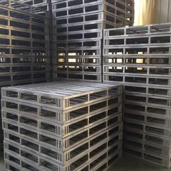 Double Face Customised Stacking Steel Post Aluminum Pallets
