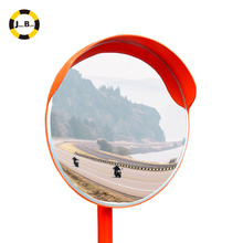 Round Acrylic Outdoor Convex Mirror For Road <strong>Safety</strong>