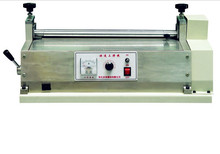 Paper box gluing machine for packing boxes making