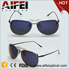 Fashion eyeglass frames with clip on sunglasses
