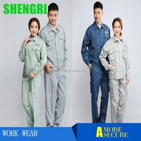 2017High Quality safety workwear uniform coverall work wear uniform