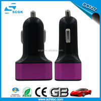 3000mAh 3-In-1 Universal Portable Combo Car Charger, Wall Charger and Power Bank Built in battery