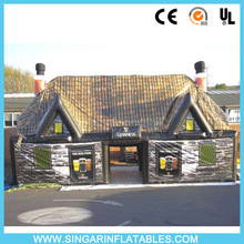 Inflatable tent with rooms, fashion inflatable air bar/pub for Sale