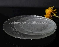 new rose decorative wholesale dinner plates for wedding