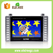 high-definition multi function 7inch mp4 video player for kids with aux in
