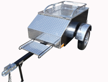 Tow behind motorcycle travel trailers for sale