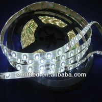 HOT-Selling Item led strip 3528 60led/m decoration for home,party;white PCB with 3M tape,DC12V input,non-waterproof IP20;5m/roll