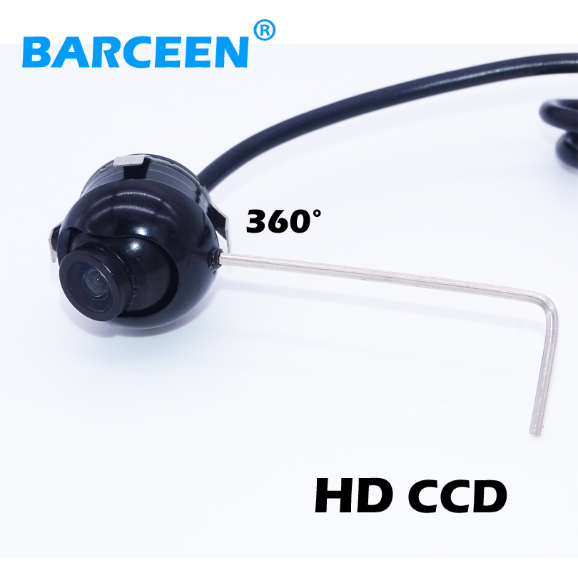360 degree car front and rear camera,High quality car rear view camera /High resolution car camera
