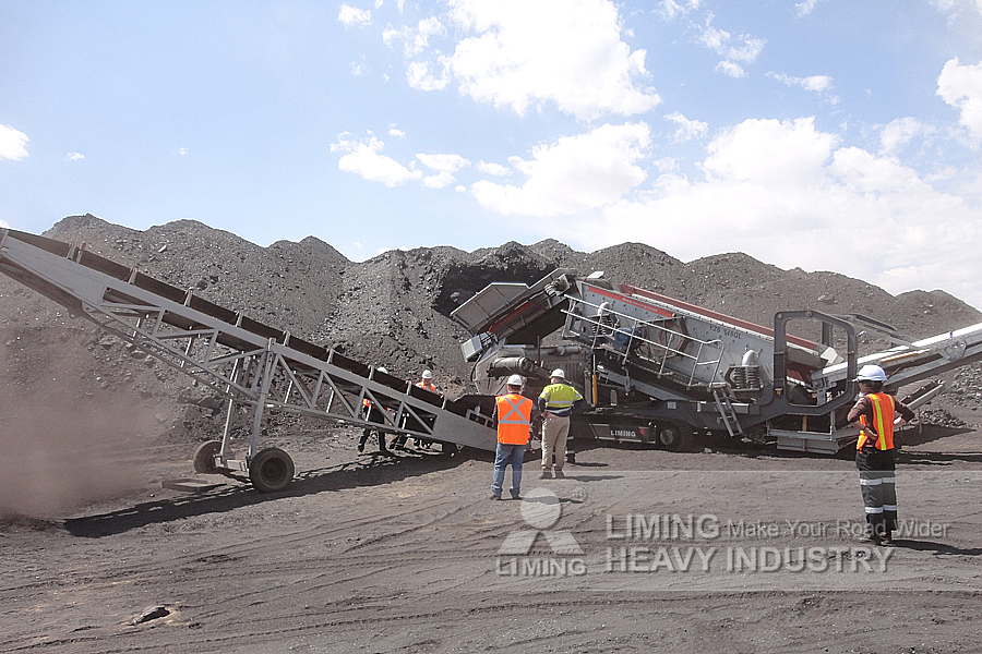 K series Mobile Crushing & Screening Plant