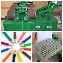 Environment friendly recycled waste paper pencil making machine with factory price