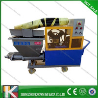 Wet ready mixed wall gypsum spray plaster machine