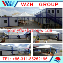 container home kits / prefab camp container house for workers'