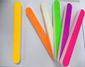 bright color straight shape sanding sponge nail file nail care kit