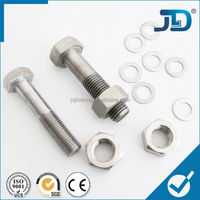 High Tension 8.8 Grade M20 Bolts And Fasteners