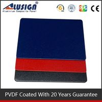 Alusign interlocking exterior aluminum composite board wall panels