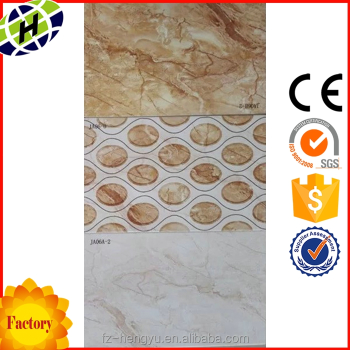 Chinese factory 250X400mm bathroom tile decals