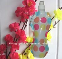 2013 new arrival BPA free reusable plastic water bottle bag