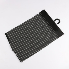 Wholesale weft knit black and white stripe ponti roma fabric for casual clothes