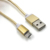 Colorful 1.5m Nickel Plated Nylon braided V8 USB cable for Android cell phone