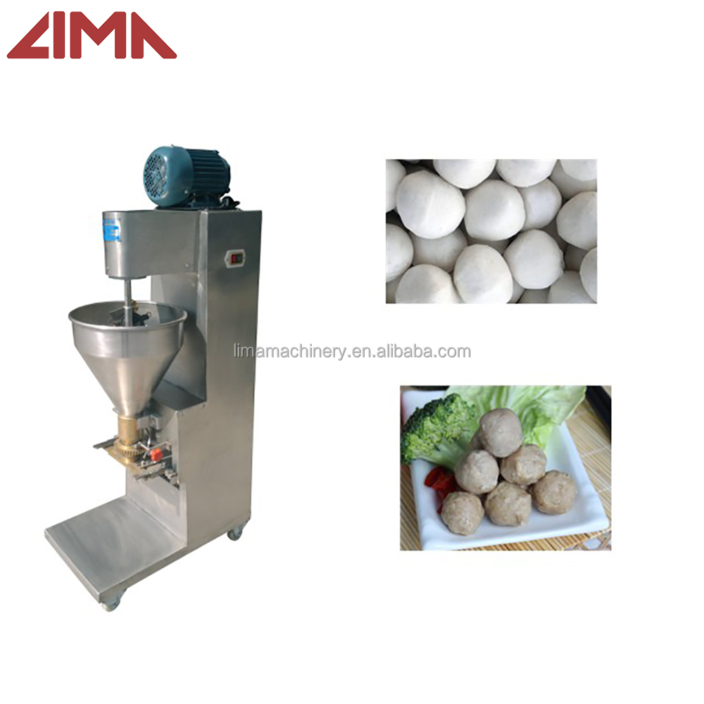 Automatic beef fish ball forming machine