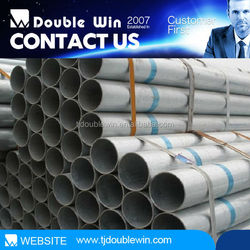 latest building materials manufacturers!!! galvanized Steel pipe for garden