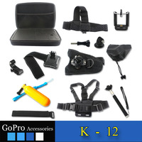 Gopros kit,sport gopros accessories for gopro hero 4 and xiaomi yi camera accessories for gopros hero 4 ,gopro accessories set