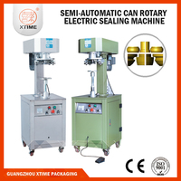 Semi automatic 150mm diamter tin can seamer machine