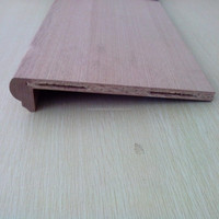 Chinese oak veneer stair step covers/staircase covering