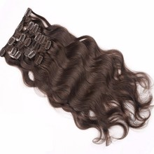 Top quality clip in double weft marley braid 30 inch remy hair extension