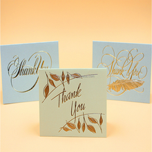 Retro Creative Business Thanksgiving Relief Greeting Card Universal Blessing Card Thanks Card