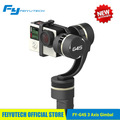 3-Axis Brushless Handheld Feiyu G4S Stabilizing Gimbal for Go Pro series Go pro 3 3+ he ro 4 LCD Touch Bac Pac