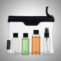 Small Size Printing PVC Bag clear makeup case