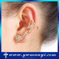 Fashion jewelry colourful over the ear earrings with factory hot selling E672