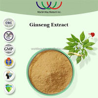 China FDA KOSHER HACCP manufacturer supply korean black ginseng,free sample hot sale 80% ginsenosidesUV ginseng extract