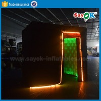 china inflatable photo booth sales cube led inflatable photo booth new photo booth wedding
