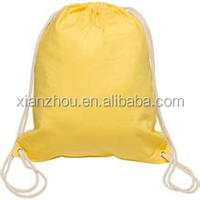 Cheapest Price Screen Printing 8oz Cotton Canvas Drawstring Bag