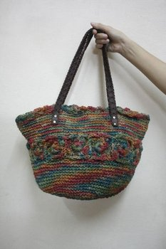 Hessian Bell Hippie HOBO Sling Crossbody Shoulder Bag Purse