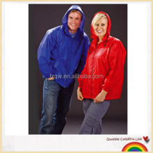 Adult foldable cycling rain jacket