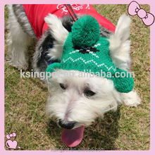 Christmas Festival Pet Accessories, Knitted Dog Woolen Hat