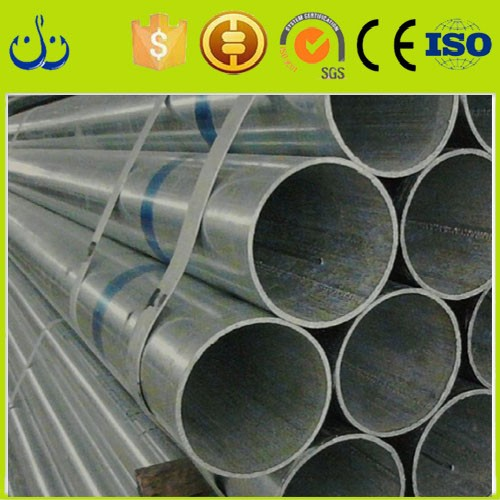 Investors contact pipe supplier hot dip galvanized steel pipe