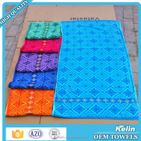 Wholesale alibaba 70x140cm embroidery design for bath towels