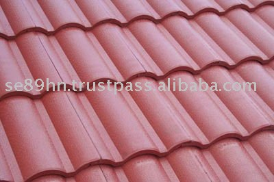 Concrete roof tile- Big wave