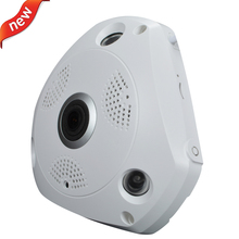 1080P fisheye manufacuturer Full View Wireless HD 2MP IP Camera 1.8mm Wide Lens Day&Night