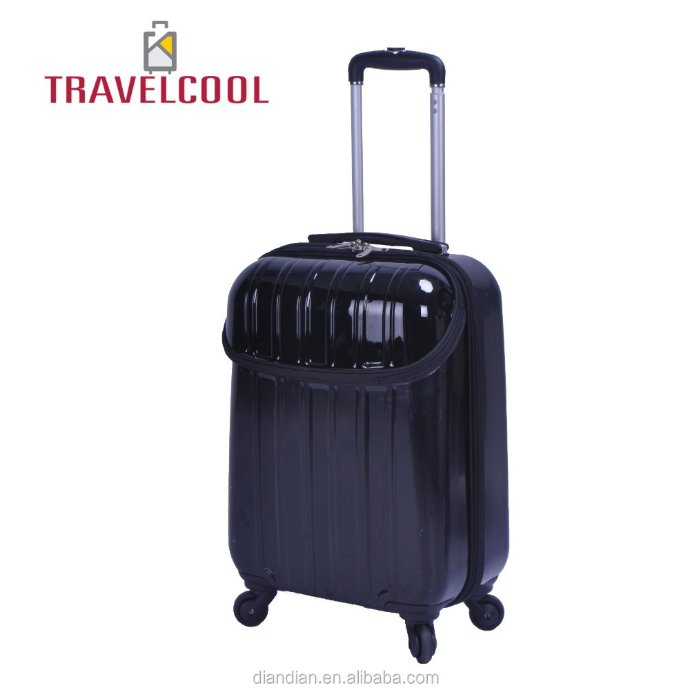 Carry-on Trolley Case Hard side Spinner Suitcase ABS+PC Luggage/Trolley Bags DC--9917