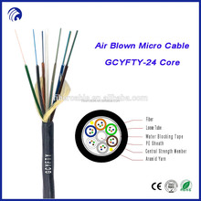 Manufacturing multi core air blown fiber unit low friction sheath micro fiber optic cable