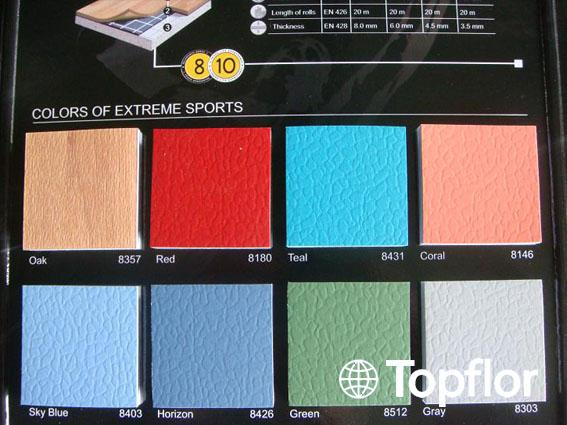 PVC Sports Flooring/Indoor Basketball Court Price