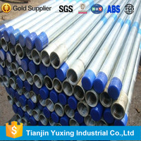 3 inch galvanized pipe with threaded used gi pipe