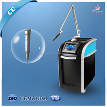 professioanal salon use ND YAG laser pigment sun spot removal rejuvenation equipment for body therapy